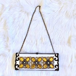 Mary Frances Richly Embellished Convertible Clutch